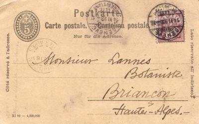 Conférence : Lannes et les botanistes haut-alpins du XIXe siècle