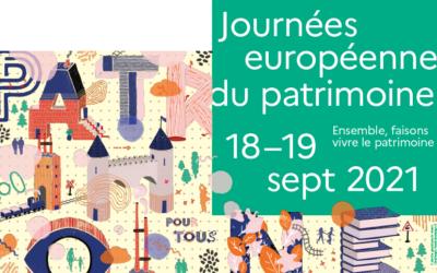 Le programme des Journées Européennes du Patrimoine